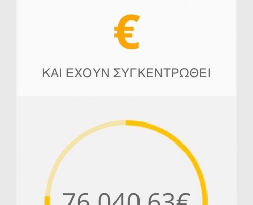 Στόχος τα 100.000 €